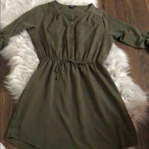 Rue21 olive green dress